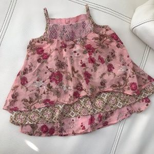Authentic Kenzo floral layered 6M